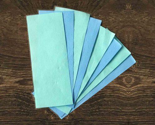 کاغذ کرپ بسته بندی استریل - CREPE PAPER