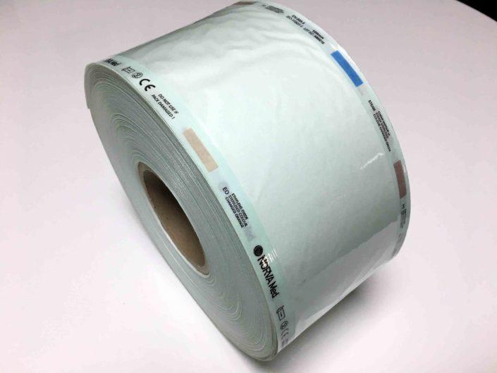 رول بسته بندی استریل (ویپک ) -FLAT AND GUSSET STERILIZATION REELS
