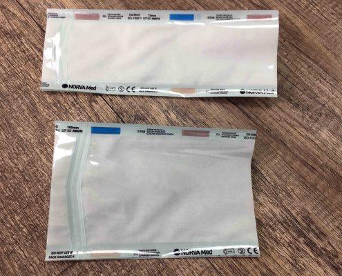 پاکت بسته بندی استریل -FLAT AND GUSSET STERILIZATION POUCHES