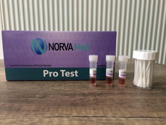 تست پروتئین - protein residue test kit (protest)